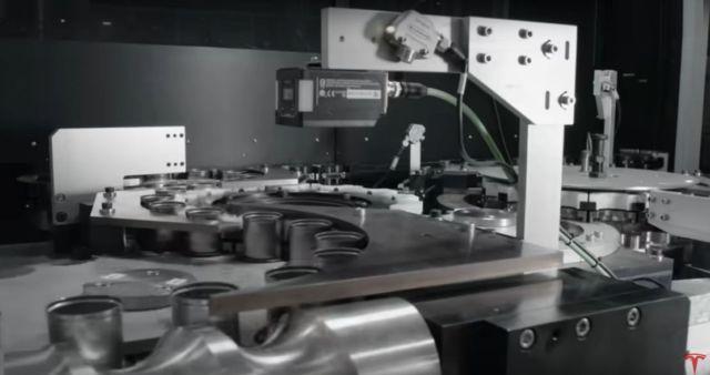 Making Batteries at Tesla