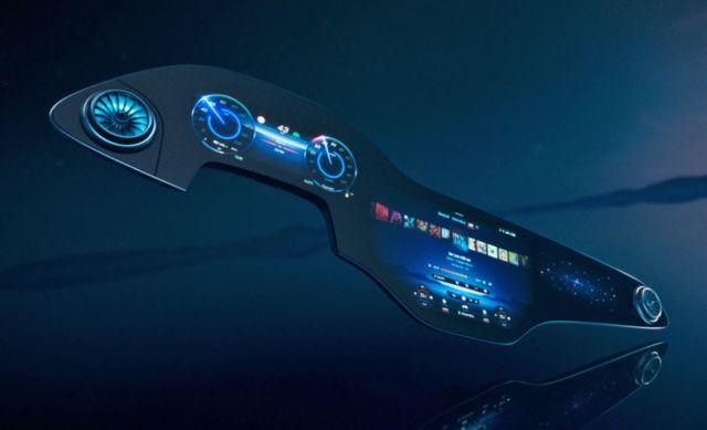 Mercedes-Benz EQS MBUX Hyperscreen
