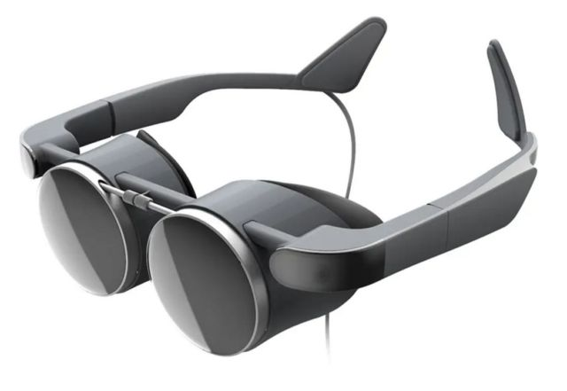 Panasonic slim VR glasses