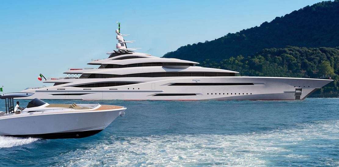 Project Century X 360-Foot Megayacht