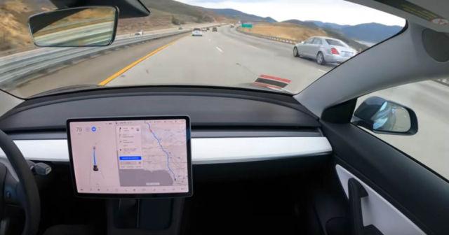 Tesla Model 3 achieved autonomous journey from San Francisco to LA