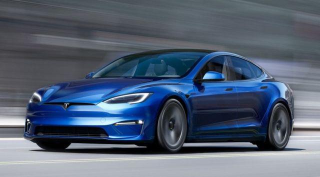 The new Tesla Model X Plaid