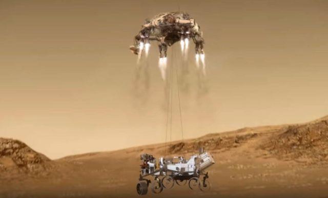 The stunning way Perseverance will land on Mars