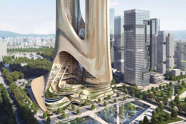 Tower C at Shenzhen Bay Super Headquarters Base