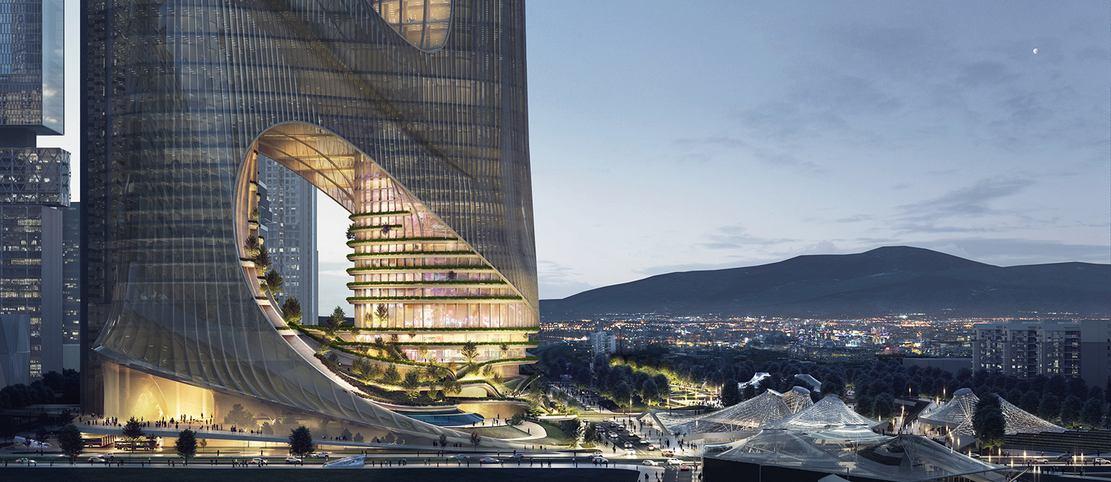 Tower C at Shenzhen Bay Super Headquarters Base (3)