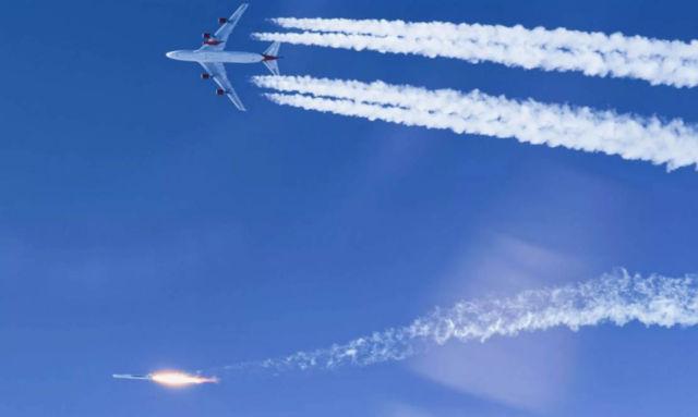 Virgin's LauncherOne reaches Οrbit