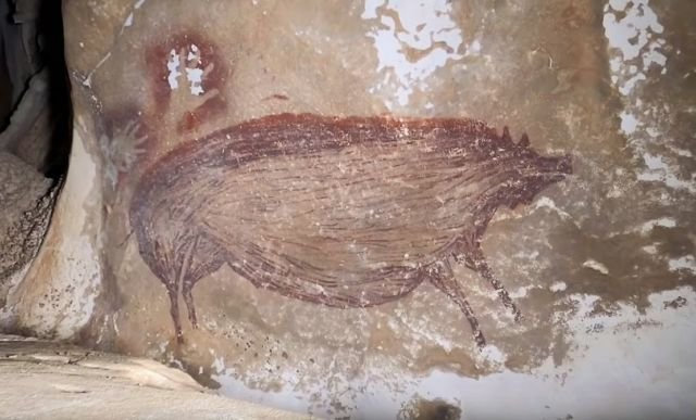 World's oldest known Cave Painting