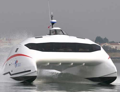 A2V aerodynamic catamaran