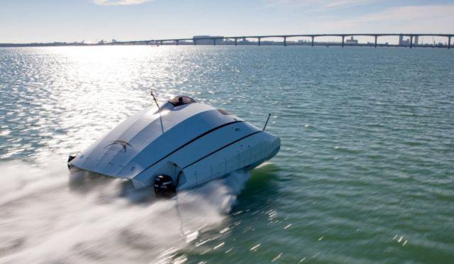 A2V aerodynamic catamaran (4)
