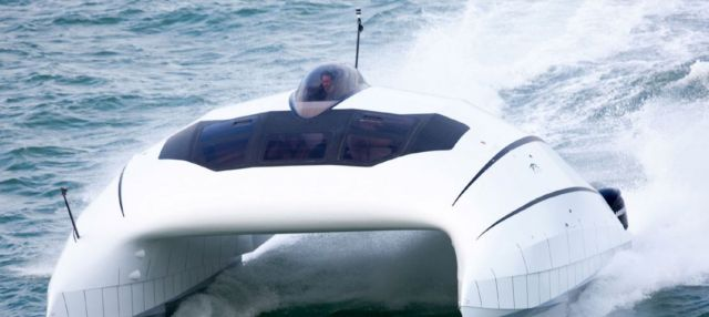 A2V aerodynamic catamaran (3)