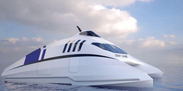 A2V aerodynamic catamaran (2)