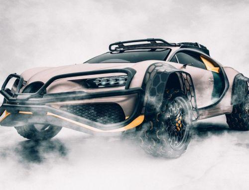 Bugatti Chiron Terracross concept