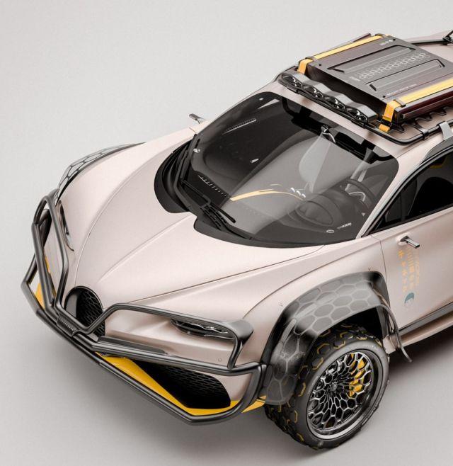 Bugatti Chiron Terracross concept (4)
