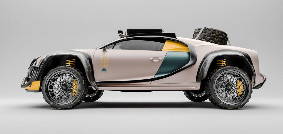Bugatti Chiron Terracross concept (1)