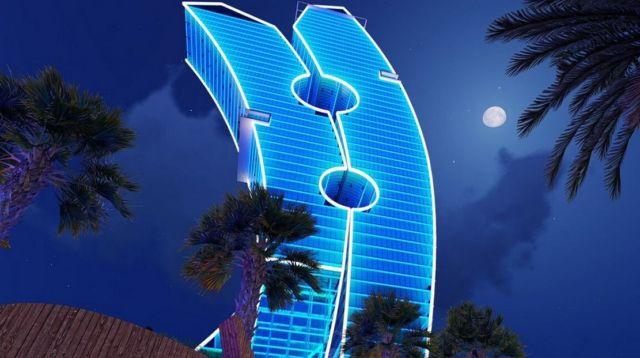 Clothespin Tower in Dubai (8)