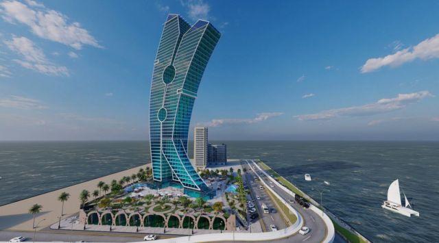 Clothespin Tower in Dubai (7)
