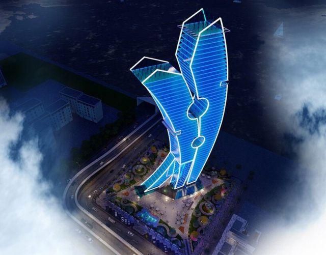 Clothespin Tower in Dubai (6)