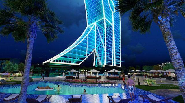 Clothespin Tower in Dubai (5)