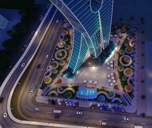 Clothespin Tower in Dubai (4)
