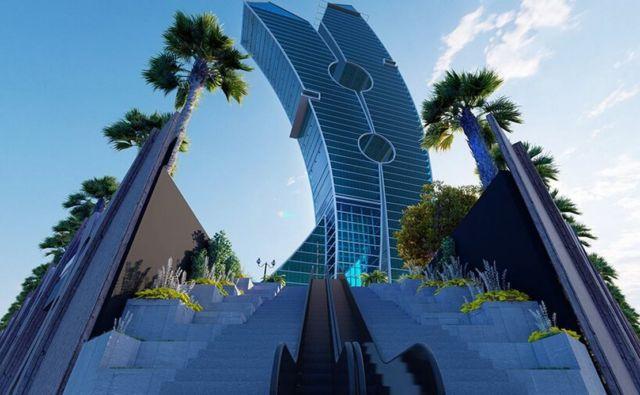 Clothespin Tower in Dubai (3)