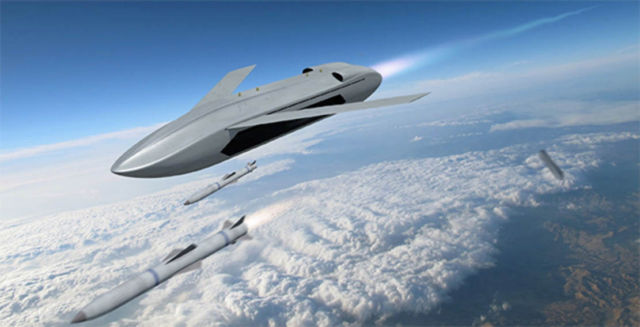 DARPA is developing LongShot Unmanned Air Vehicle