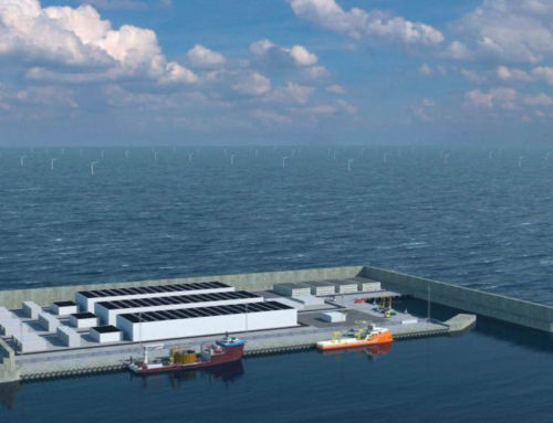 Denmark to build a Wind-Generating Artificial Island