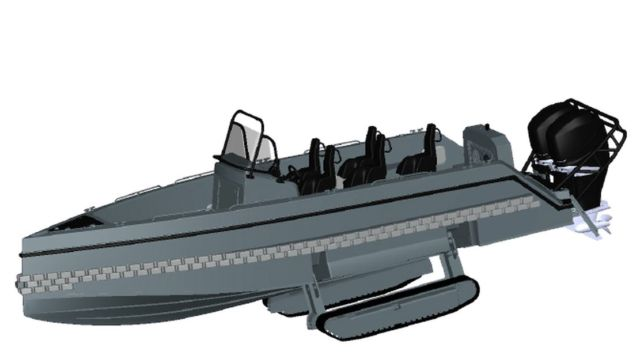 Iguana Pro Interceptor amphibious craft (1)