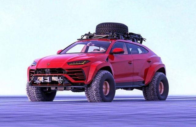 Lamborghini Urus Arctic SUV