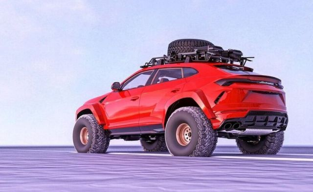 Lamborghini Urus Arctic SUV (4)