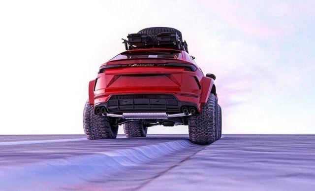 Lamborghini Urus Arctic SUV (2)