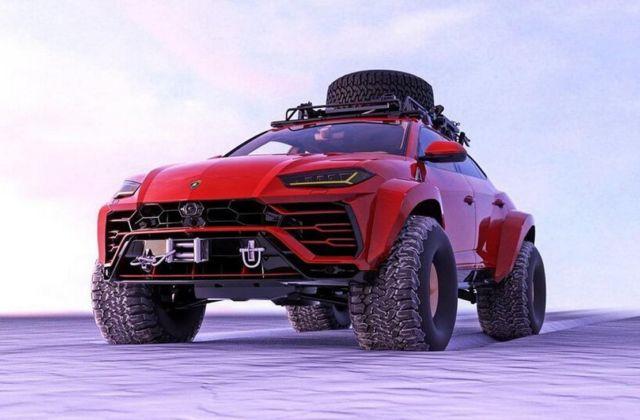Lamborghini Urus Arctic SUV (1)