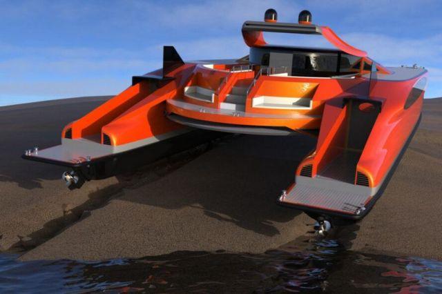 Lazzarini Pagurus amphibious catamaran (7)