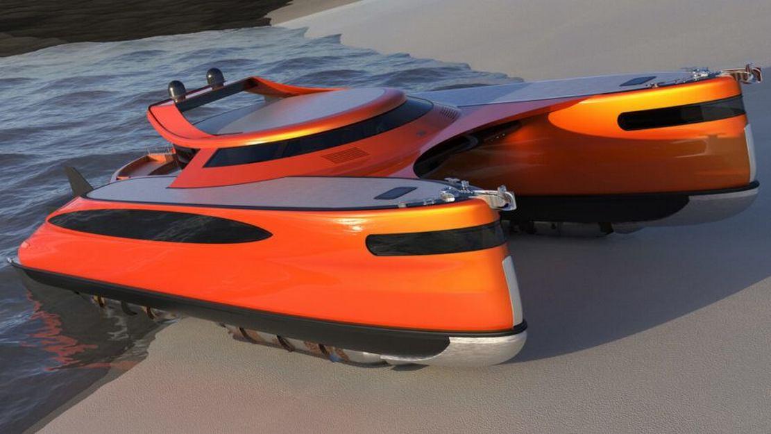 Lazzarini Pagurus amphibious catamaran (6)