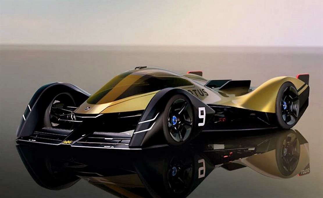 Lotus electric E-R9