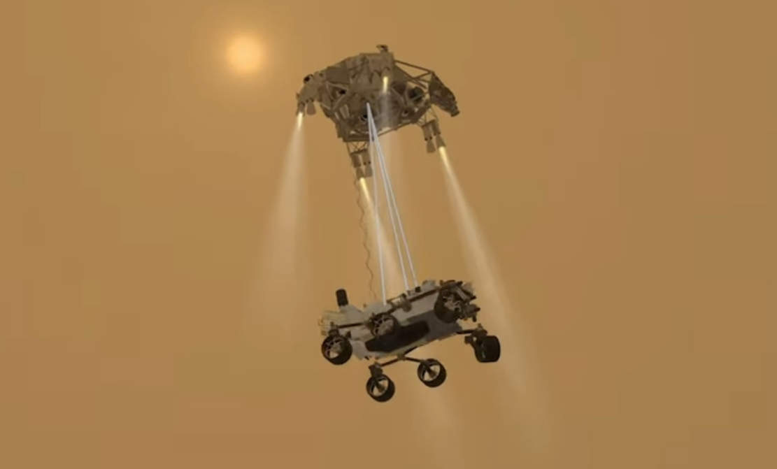 Mars Rover Landing Crash Course- 3 days left