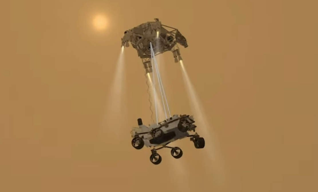 Mars Rover Landing Crash Course- 3 days left