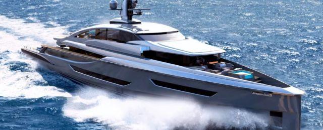 Mr. Hunt Superyacht Concept