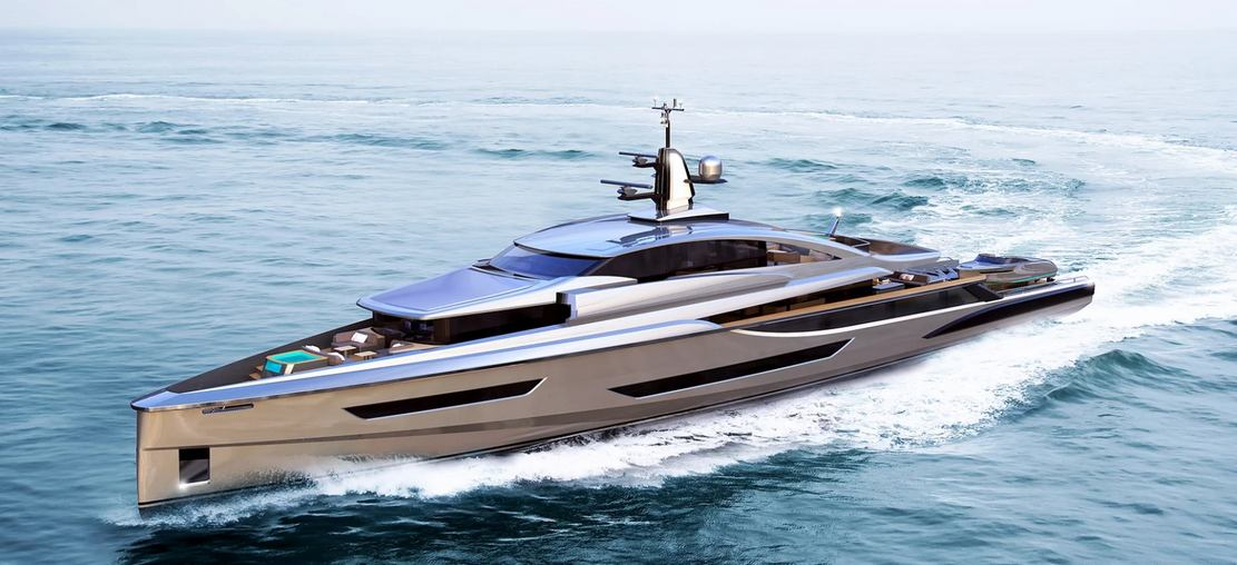 Mr. Hunt Superyacht Concept