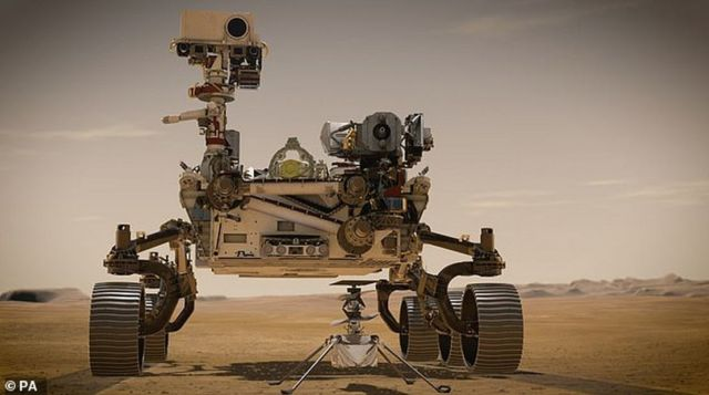Perseverance rover sends first images from Mars (4)