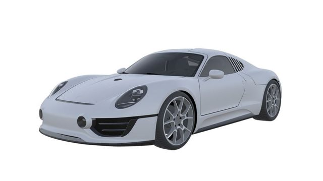 Porsche may be developing a New Sports Car (5)