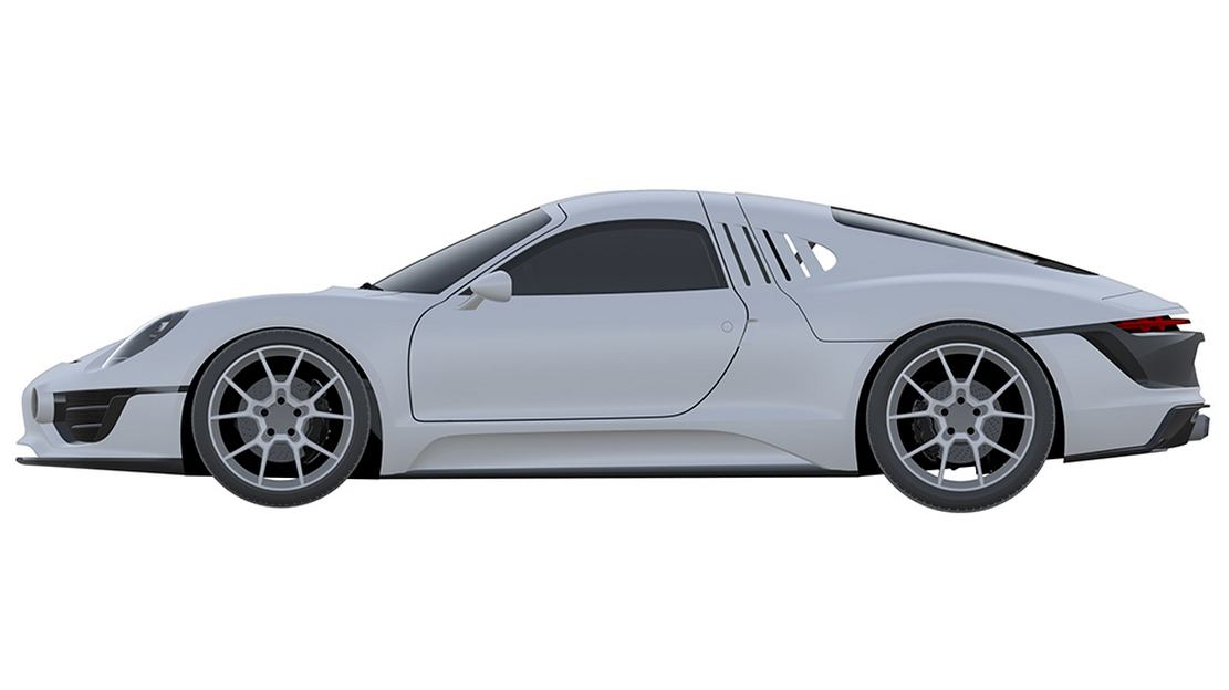 Porsche may be developing a New Sports Car (4)