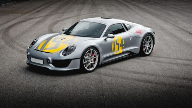 Porsche may be developing a New Sports Car (2)