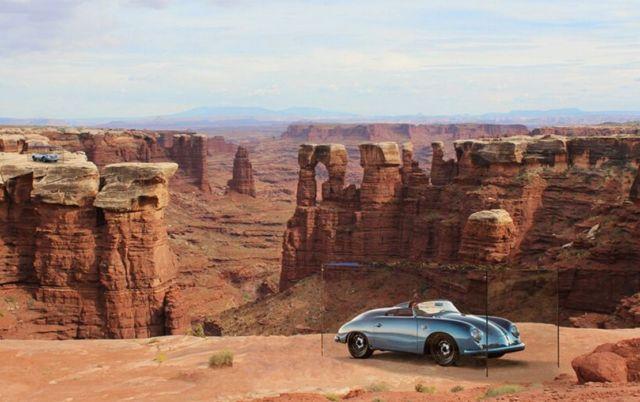 Porsches in Nature exhibition (1)