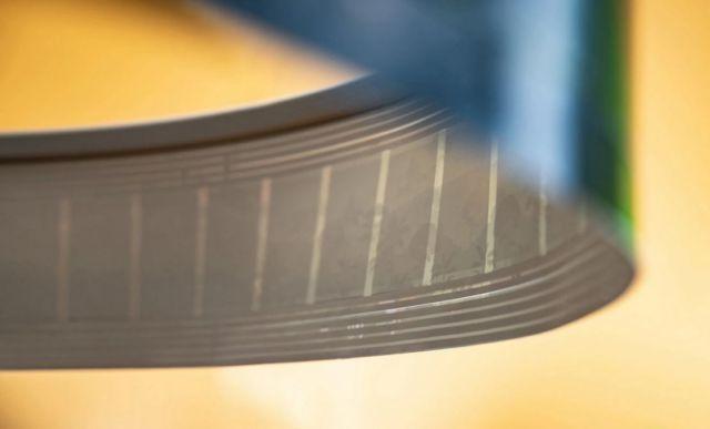 Roll-to-Roll Printed Paper Loudspeaker