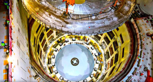 Testing the Fuel for Giant New Fusion Reactor