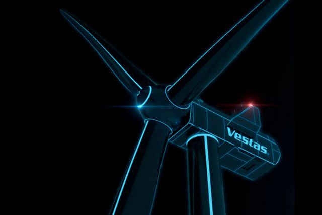 Vestas new Offshore Turbine with world's largest Blades