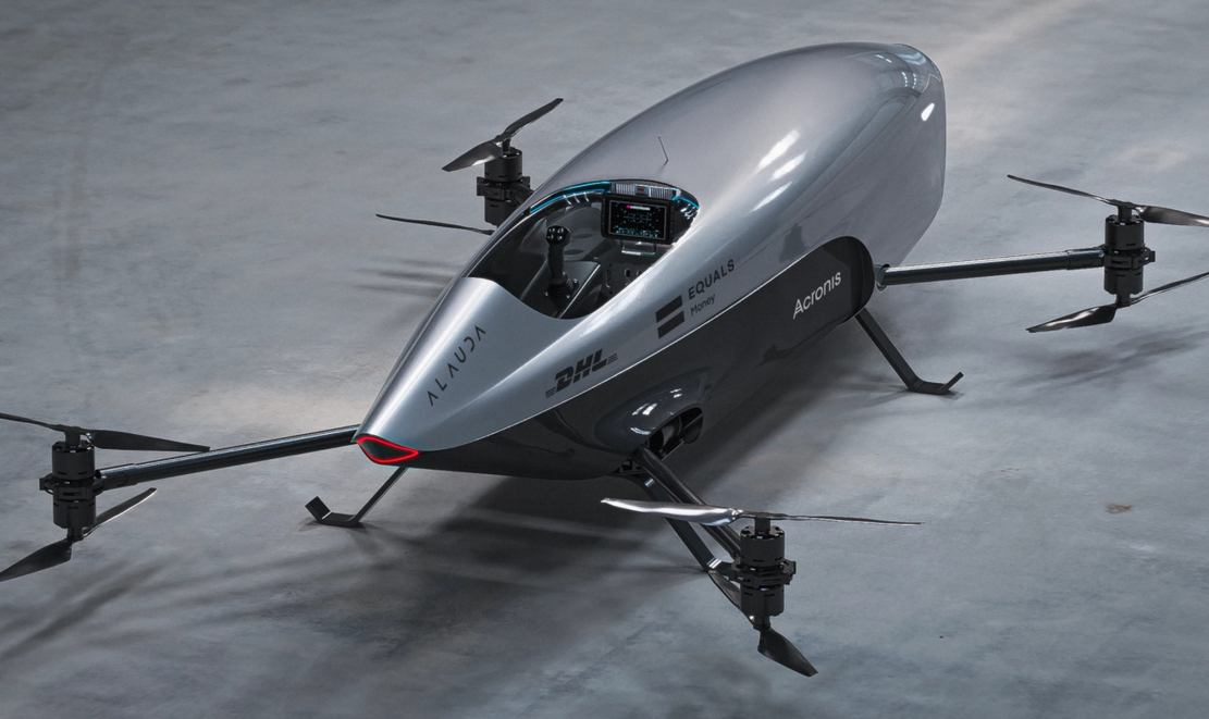 World's first electric Flying Racing Car unveiled