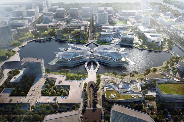 Zhuhai Jinwan Civic Art Centre (7)