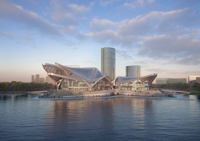 Zhuhai Jinwan Civic Art Centre (5)