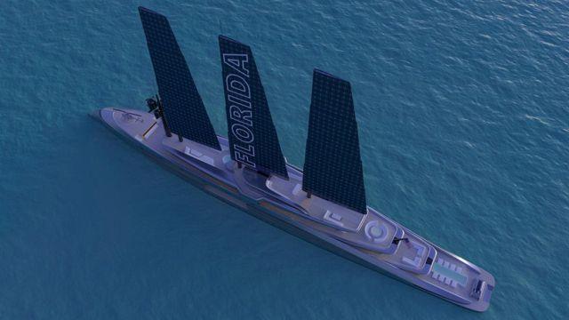 160 Meter Florida Sailing Yacht concept (3)